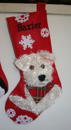 Need this for Frito!   Custom Pet Stockings