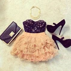 Fun girly outfit