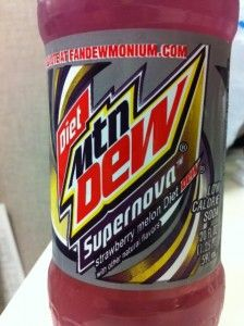 Diet Mtn Dew Supernova