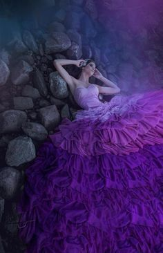 Holy Purple Gown  Beautiful ~