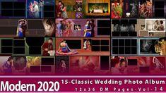 New 2020 Classic Wedding Photo Album 12x36 DM Pages-Vol-14