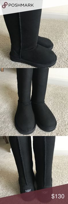 🚨REDUCED‼️🚨New Classic Tall Ugg Boots (Girls) Authentic New Classic Tall Ugg Boots for girls. UGG Shoes Boots