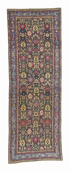 NORTH WEST PERSIAN KELLEH  EARLY 19TH CENTURY    21ft. x 7ft.3in. (638cm. x 220cm.)