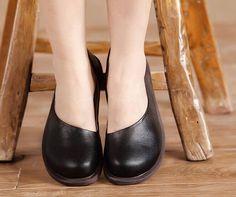 6 couleurs  Femmes à la main chaussures chaussures par HerHis