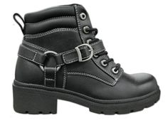 2264795032c Milwaukee Motorcycle Clothing Company Womens Paragon Boots (Black