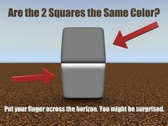 Great mind trick... it never fails to trick even my own trained eye for colour.