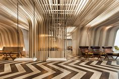 Imagine Lounge, Bangkok University, Supermachine Studio, Contract Magazine