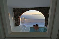 Hotel San Antonio, Santorini, Greece