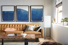 Wells Leather Sofas - Sofas - Living - Room & Board
