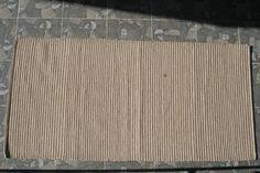 Unique wool carpet hand woven 85x171cm Ascendis CAsA2