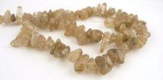 Natural Gold Rutilated Quartz Gemstones // by CastoGemstones, $3.50