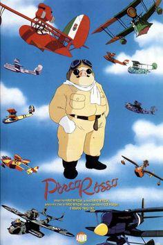 Porco Rosso  #Miyazaki http://cuchurutu.blogspot.com/2014/05/felizlunes-las-peliculas-de-hayao.html