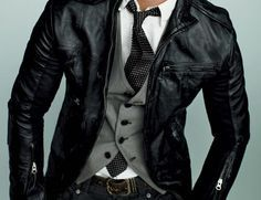 Leather formal