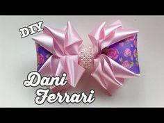 Diy Hair Bows, Diy Bow, Diy Ribbon, Ribbon Bows, Peach Cupcakes, Princess Crafts, Satin Ribbon Flowers, Baby Headbands, Diy Hairstyles