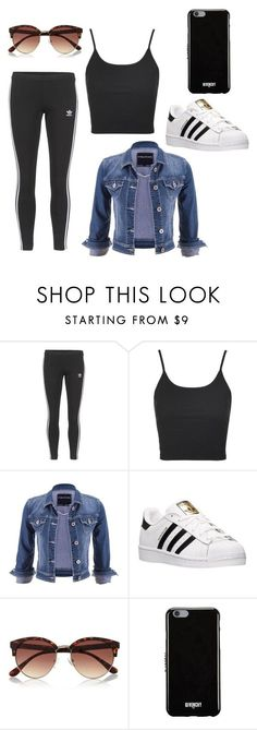 """How to wear Adidas"" by karlamichell on Polyvore featuring beauty, adidas Originals, Topshop, maurices, adidas, River Island and Givenchy"