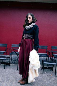 Fall fashion: #BordeauxBlend