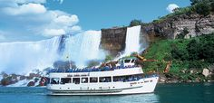 Niagara Falls Maid of the Mist - $17 adults, $9.90 kids, 5 and under Free
