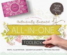 The gifted Lisa Glanz has teamed up with Design Cuts to launch a model new assets assortment and it is humongous! This All-In-One toolbox is a flexible assortment of fonts illustrations textures patterns ornamental parts and extra which have all been expertly hand crafted by Lisa herself. Theres every little thing it is advisable to create lovely designs with the whimsical fashion that Lisa has perfected. With over 450 gadgets included this new product is implausible worth at $39 however…
