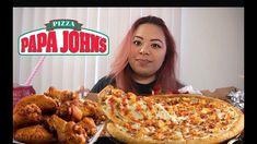 Papa Johns Pizza Mukbang!