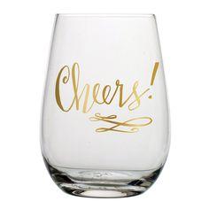 Cheers Stemless Wine