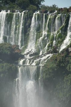 Beautiful Iguaza Falls