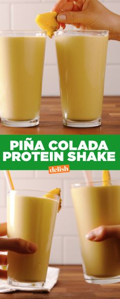 Yes, you can have a pina colada after the gym. Get the recipe at Delish.com.