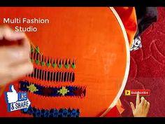 Embroidery / Tarkashi Design / Tarkashi Work/ Eyelets and Hemstitching Hand Embroidery, Embroidery Designs, Fashion Studio, Make It Yourself, Places, Unique, Youtube, How To Make, Blog