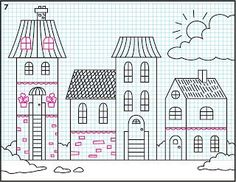 How to draw a town and other awesome art tutorials for kids