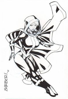 ROGUE by ............Carlo Barberi Comic Art