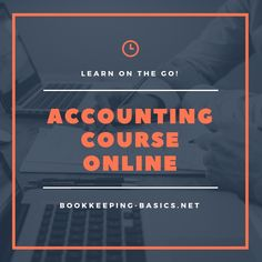 Accounting Course Online - Quickly learn bookkeeping and finance skills from anywhere at anytime Learn Accounting, Accounting Course, Online Bookkeeping, Income Tax, Online Courses, Finance, Learning, Studying, Teaching