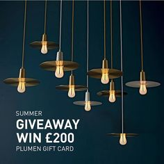 Only 2 hours left to take part in the Summer Giveaway and scoop the £200 prize! Just click on the link in the bio to enter  The giveaway is open worldwide and the voucher is redeemable on the entire Plumen webstore.