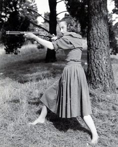 Actress Betty Field in the 1941 John Wayne movie The Shepherd of the Hills.