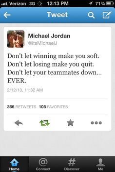 One of the best Michael Jordan quotes