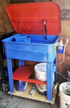 HF 20 Gallon Parts Washer Mods - The Garage Journal Board