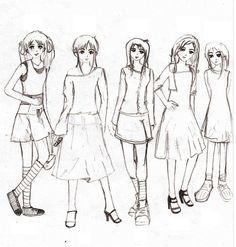 Cara Lukis Cara Melukis Baju Anime Perempuan