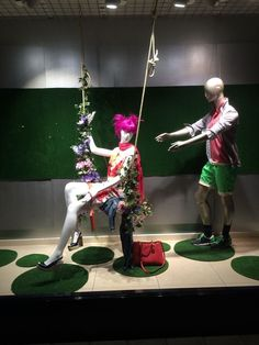 "LUTZ,Vinkeveen, The Netherlands, ""Swing into Summer....PUSH...Robert....PUSH"", creative styling by Ursula de Vreede, pinned by Ton van der Veer"