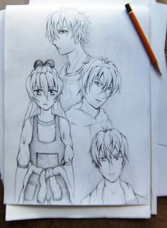 https://web.facebook.com/rysunki.nierealistyczne.dorkaart/  #sketch #manga #art