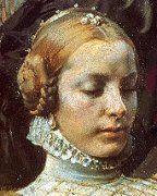 Isabel de Portugal por Tiziano. Esposa de Carlos I de España,(el Cesar) y por tanto emperatriz del Sacro Imperio Romano Germánico y reina de España