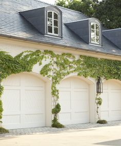Howard design studio portfolio landscape garden grounds...Garage doors