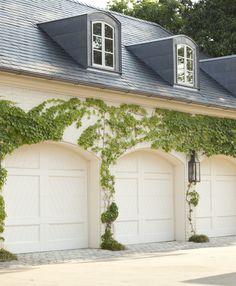 Howard design studio portfolio landscape garden grounds...Garage doors