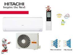 HITACHI Inverter Performance – RAK25PPA – 9000 BTU/h