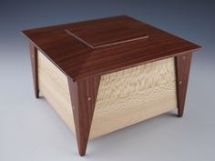 Small Wooden Keepsake Box, Jewelry Box, Stash Box - Latest & Top Rated