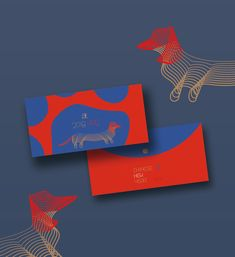 Jahr des Hundes Good Luck Chinese New Year 2018 on Behance - Nageldesigns Happy Chinese New Year, Good Luck Chinese, Chinese New Year Design, Envelope Design, Red Envelope, Branding Design, Logo Design, Red Packet, New Year Designs