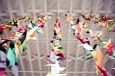Loving the pinwheels! Love this idea for a backdrop...a summer photo shoot comes to mind!