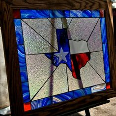 goliad state of texas framed window Stained Glass Crafts, Stained Glass Designs, Stained Glass Patterns, Texas Crafts, Texas History, Art History, Wine Bottle Wall, Texas Forever, Texas Flags
