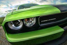 2011 Dodge Challenger SRT8 Green with Envy