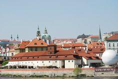 Famous Prague roof tops