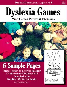 Effective therapy for children with Dyslexia, ADHD & ASD. Workbooks, Games & Worksheets for reading & spelling. Dyslexia Activities, Dyslexia Strategies, Dyslexia Teaching, Learning Disabilities, Learning Activities, Teaching Kids, Reading Strategies, Ways Of Learning, Kids Learning