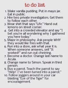 Funny Pranks for April Fools =) I have to do some of these! =D