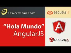 """Hola Mundo"" en AngularJS - YouTube"